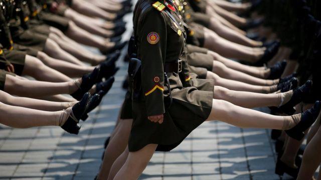 دهها هزار سرباز در این رژه شرکت میکنند