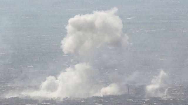 دوما تتعرض لقصف متواصل من قبل النظام منذ عدة أيام