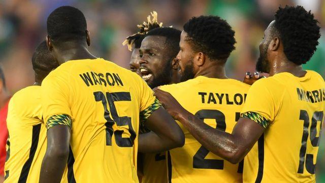 Jugadores de Jamaica