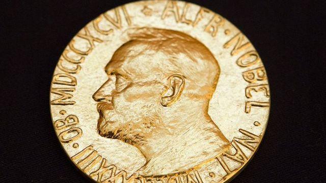 Medalla del premio Nobel.