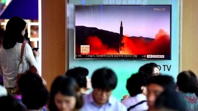 شمالی کوریا کا میزائل