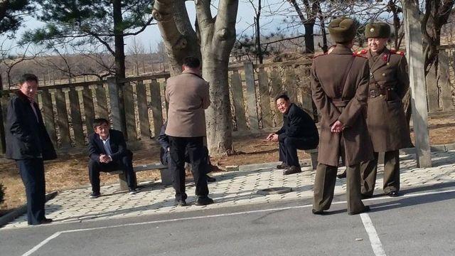 ઉત્તર કોરિયાની પોલીસની તસવીર
