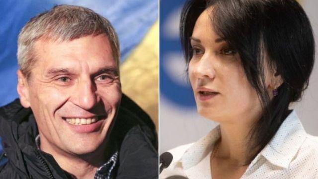 Руслан Кошулинський і Маруся Звіробій