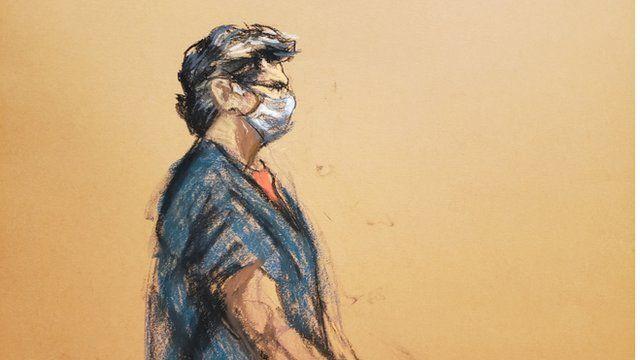 کیت رینیری در دادگاهی در شهر نیویورک حاضر شد و قاضی حکمش را صادر کرد