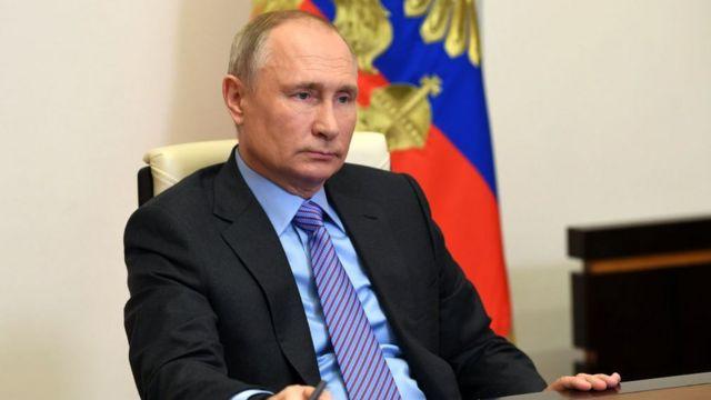 Putin, el 14 de diciembre de 2020