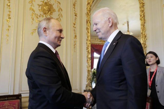 Putin ve Biden