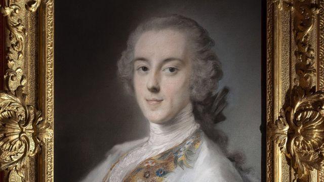 портрет Хораса Уолпола