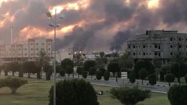 تاسیسات نفتی بقیق در آن حملات هدف قرار گرفت