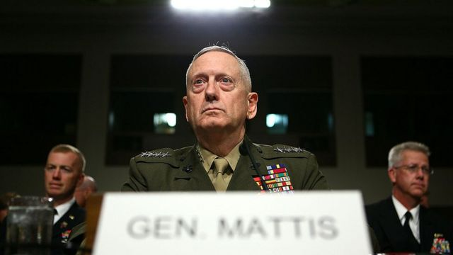 General James Mattis.