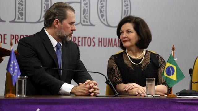 Dias Toffoli e Raquel Dodge