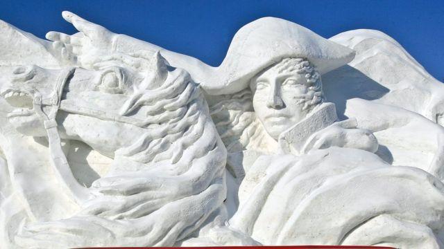 Скульптура Наполеона Бонапарта