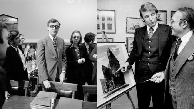 1974年に26歳のヒラリー・ロダムは連邦議会によるウォーターゲート事件調査に弁護士として参加。1976年にトランプはニューヨークで不動産開発業に進出した。