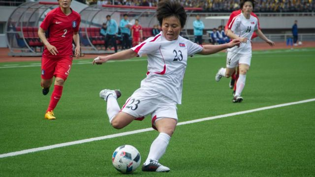 Sung Hyang-Sim, Korea, Korut, Korsel