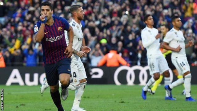 Suarez amefunga mabao tisa dhidi ya Real Madrid