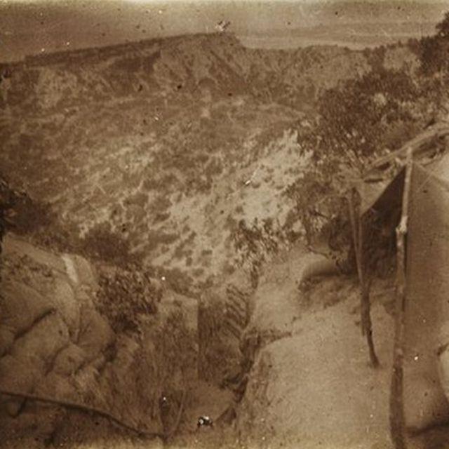 Avustralyalı askerlerin irtibat hendeği, Mayıs 1915