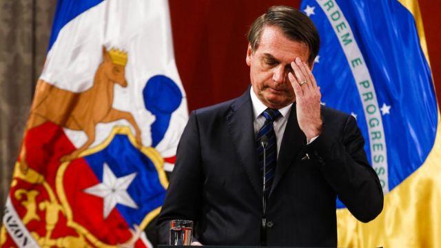 Jair Bolsonaro no Chile