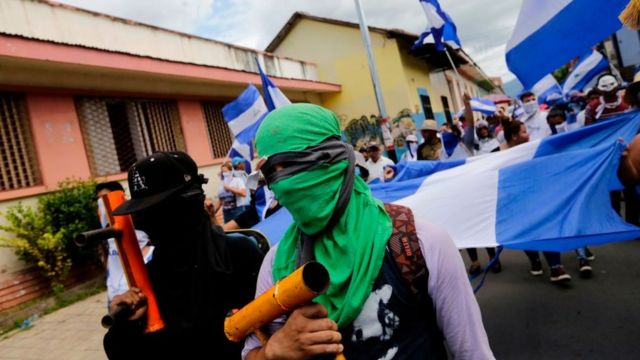 Protestas en Managua