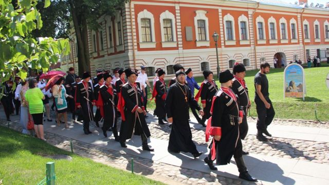 Мероприятие прошло на территории Петропавловской крепости