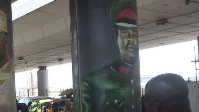 Mobolaji Johnson ontop pillar for Obalende