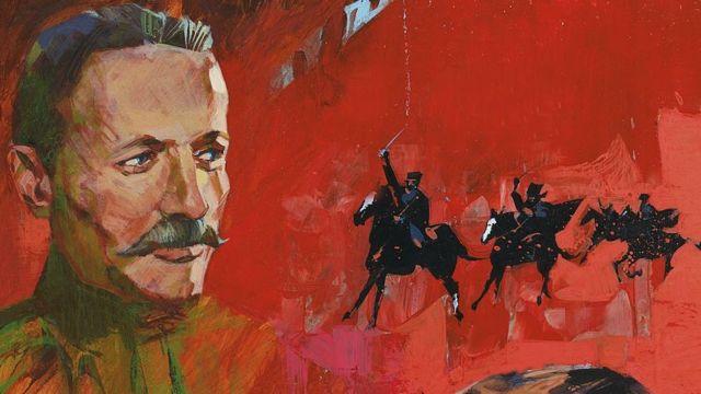 Chân dung Mikhail Sholokhov (1905-1984)