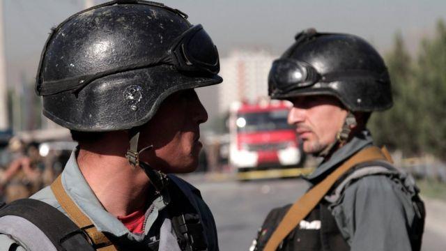 Полицейские в Кабуле