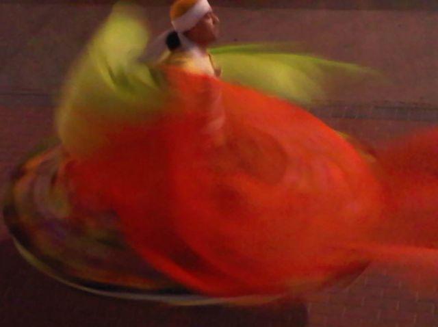 Danza de los derviches.