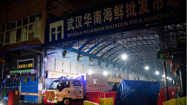 武漢華南海鮮市場