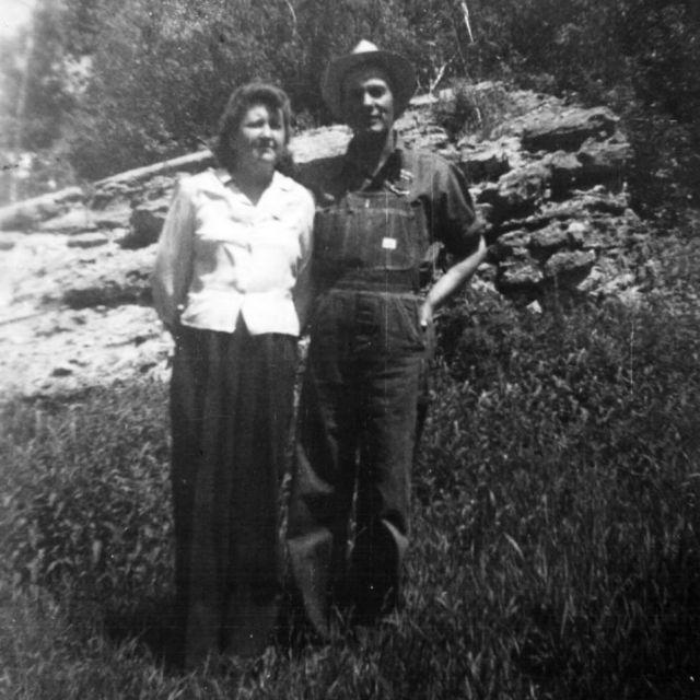 Clara and Lloyd Olsen