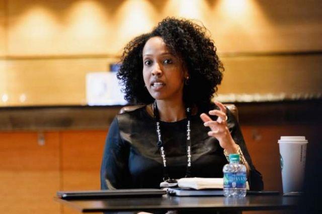L'entrepreneuse éthiopienne et spécialiste de la politique alimentaire Sara Menker