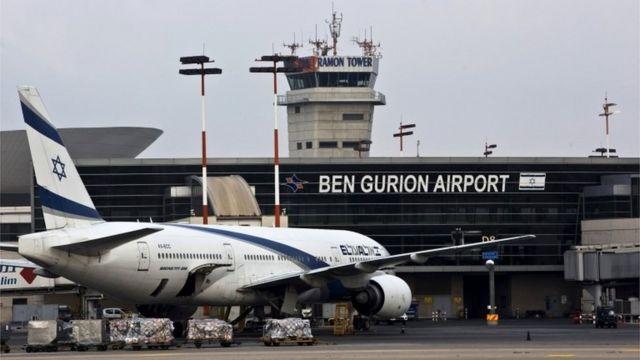 Ben Gurion airport (file photo)