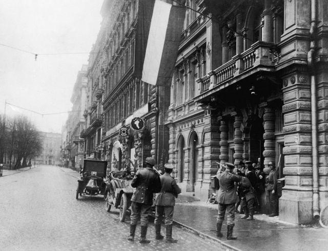 Апрель 1918 года