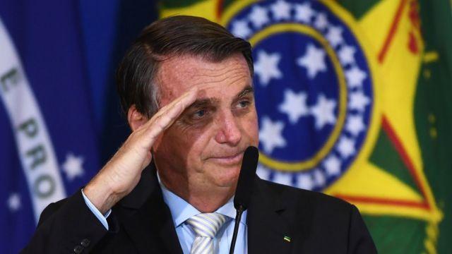 Brazilian President, Jair Bolsonaro.