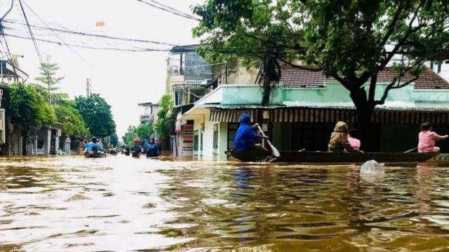 Lũ lụt ở Huế ngày 11/10/2020