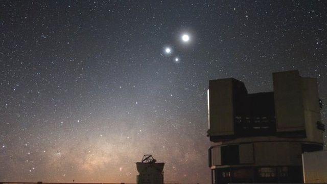 Teleskop raksasa di Chile