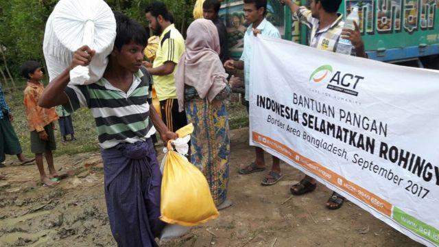 Bantuan dari Indonesia
