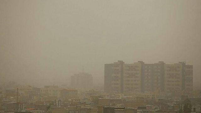 آلودگی هوا در شهر اراک