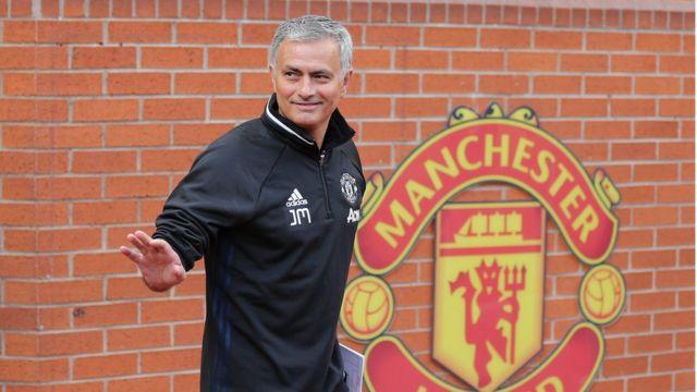 José Mourinho en Manchester