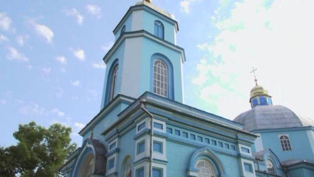 The church in Pticha