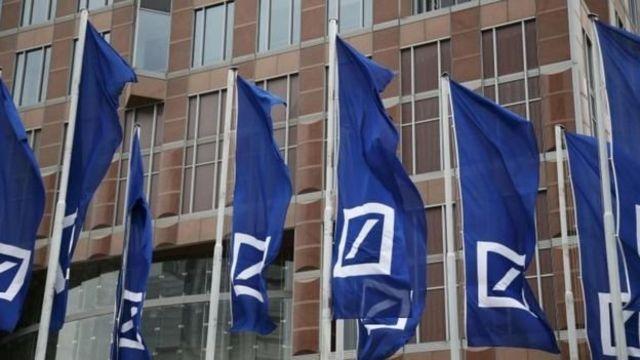 Banderas del Deutsche Bank
