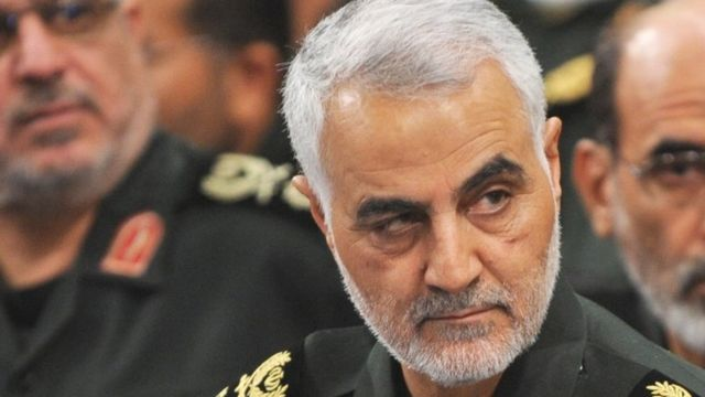 Qasem Soleimani era comandante de la fuerza de élite Quds de la Guardia Revolucionaria de Irán.