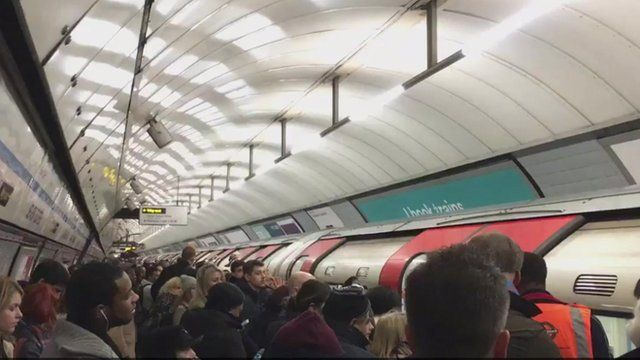 Seven Sisters station was evacuated due to overcrowding