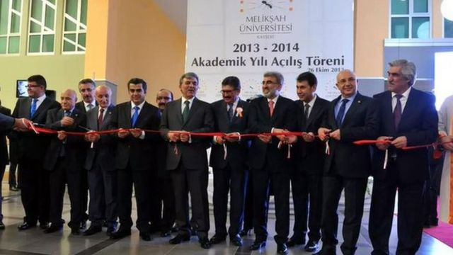 Melikşah Üniversitesi 2013/2014 Akademik Yılı Açılış Töreni