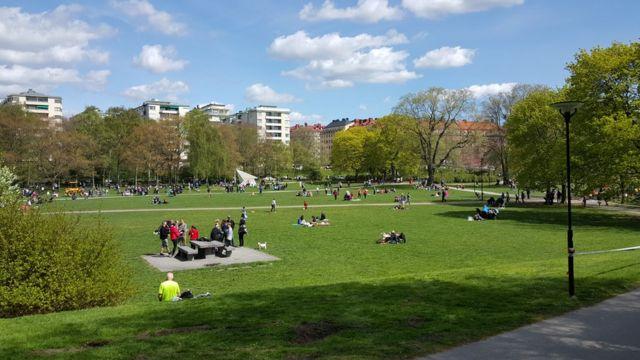 Parque Ralambshov, Estocolmo.