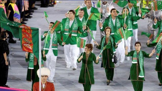 Delegação do Turcomenistão