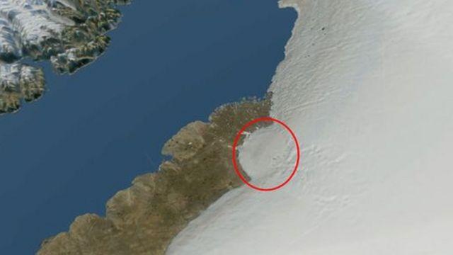 فوهة غرينلاند