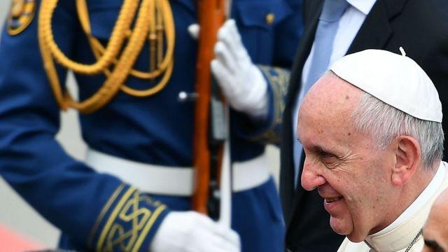 Pope Francis Bakıda