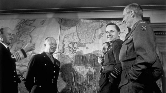 二戰期間的艾森豪威爾