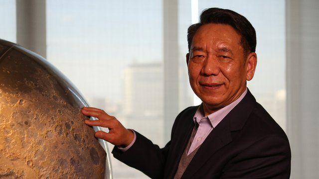 Prof Wu Weiren - chief designer of China's lunar programme
