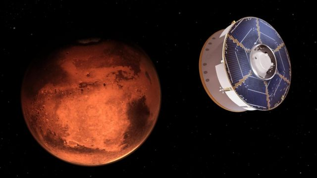 Perseverance approaches Mars
