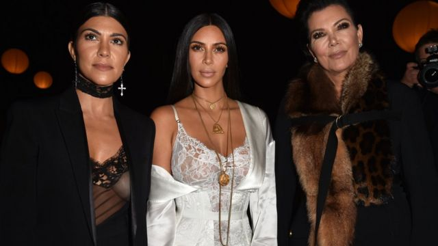 Kourtney Jenner, Kim Kardashian y Kris Jenner
